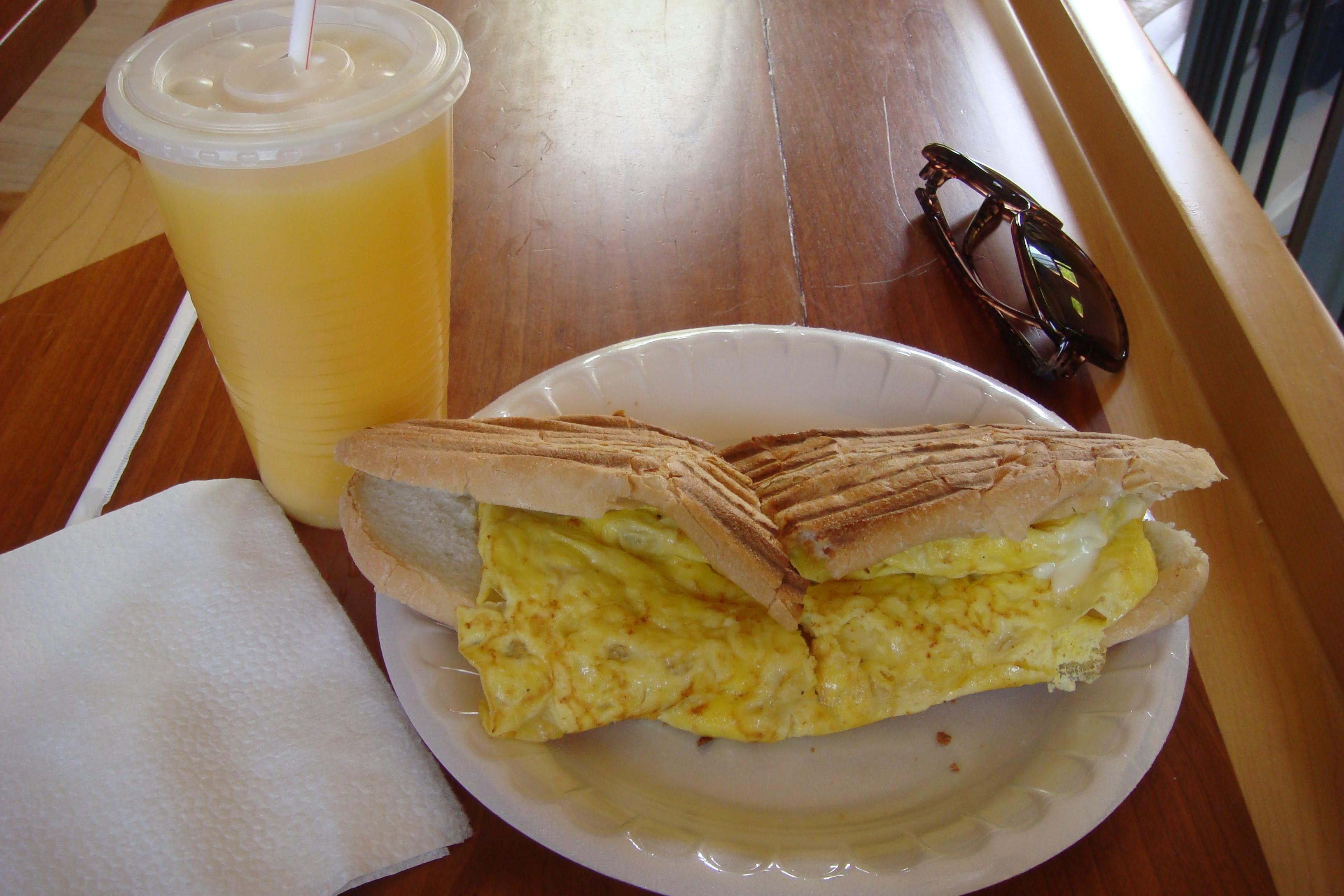 Quincy Market, Breakfast Panini
