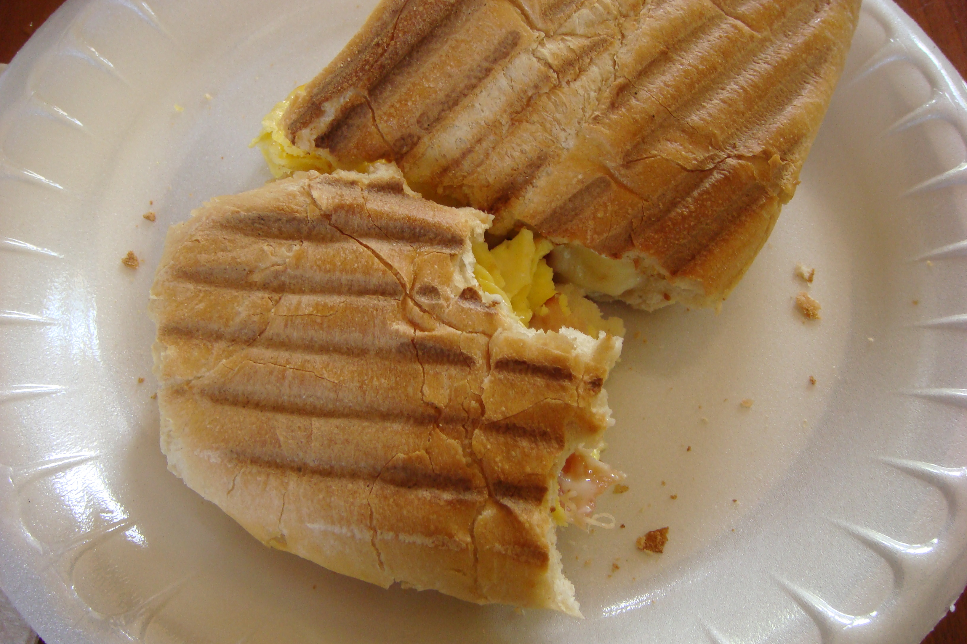 Quincy Market, Breakfast Panini