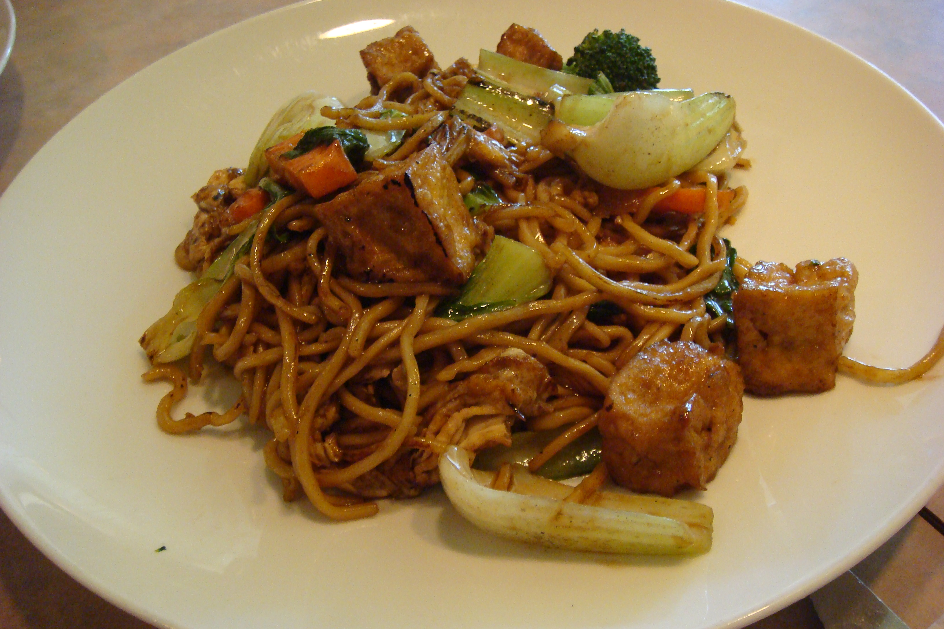Noodle Street, Pad See Ew with Lo Mein and Tofu