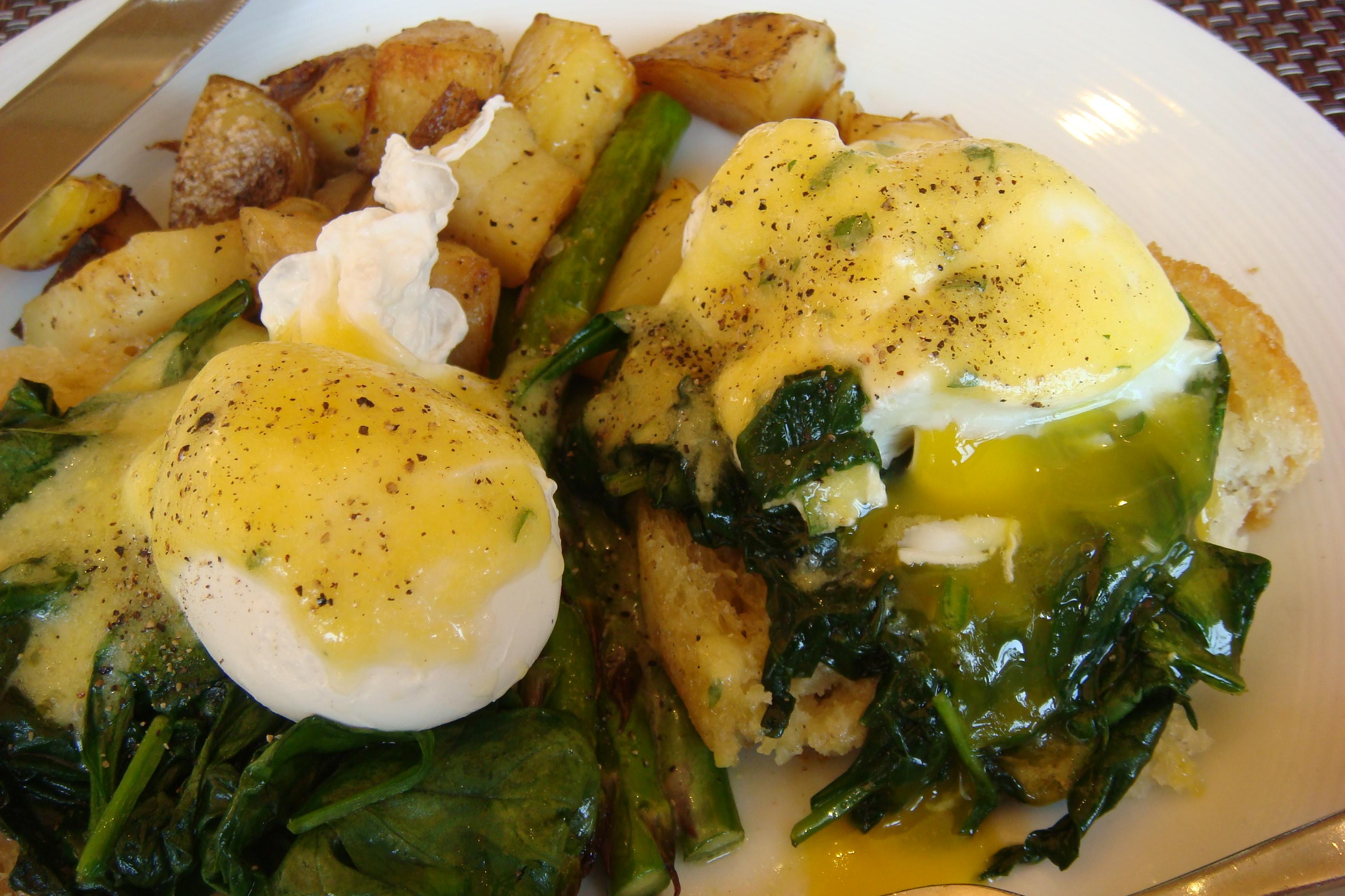 North 26 - Brunch - Vegetarian Benedict