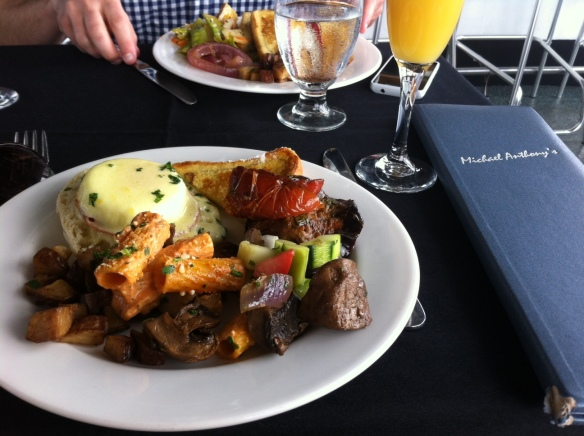 Brunch at Michael Anthony's