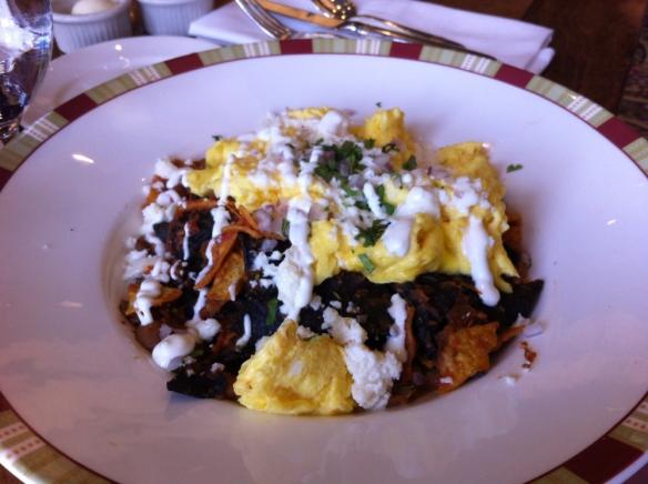 Cafe Bellagio - Chilaquiles