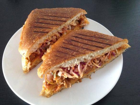 Terri - BBQ Seitan Sandwich