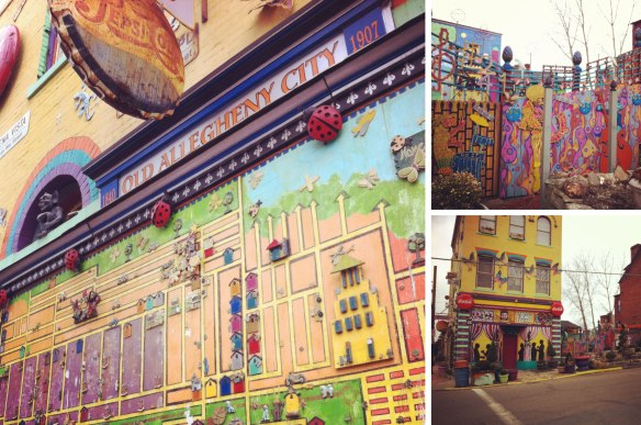 Pittsburgh, Mexican War Streets, Randyland