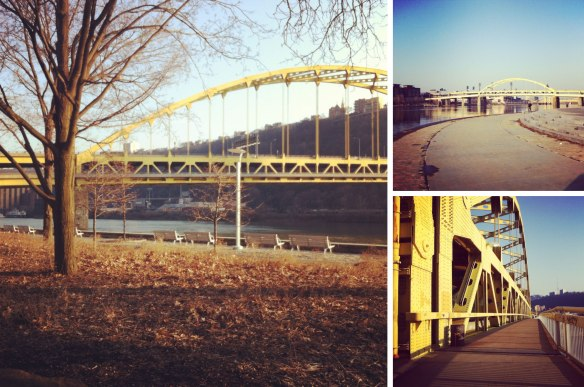 Pittsburgh, Duquesne Bridge, Point State Park