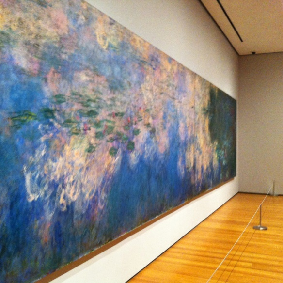 Claude Monet, Water Lilies, MOMA NYC