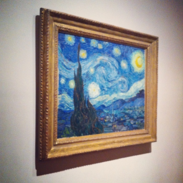 Vincent van Gogh, The Starry Night, MOMA NYC