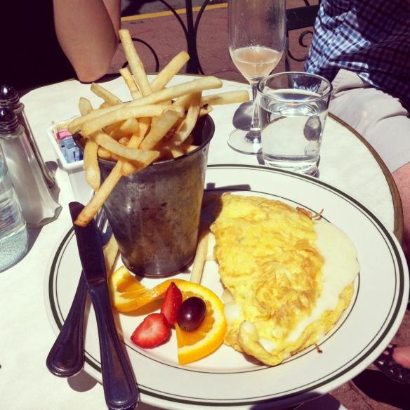 Fromage Omelet, Elysian Cafe, Hoboken