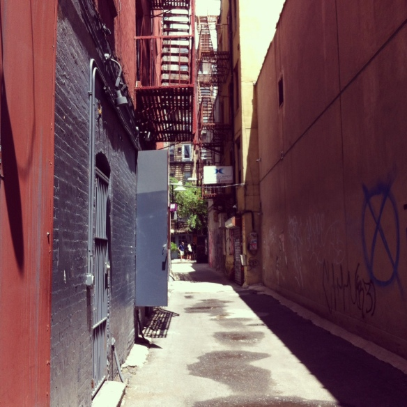 Freemans Alley, Bowery