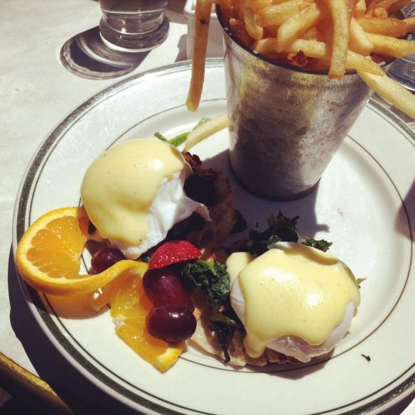 Eggs Florentine, Elysian Cafe, Hoboken