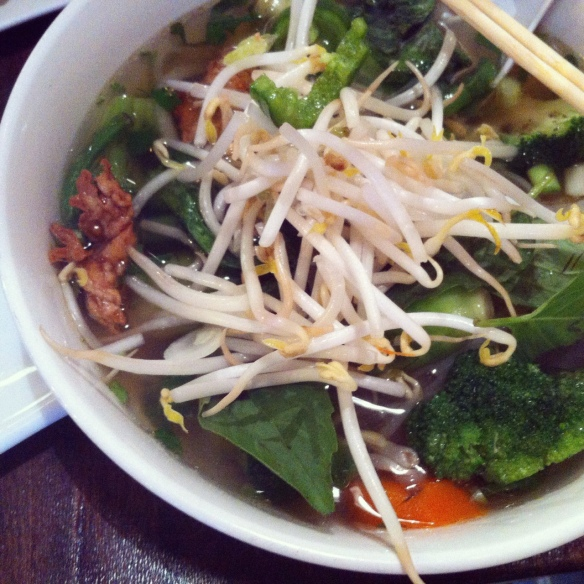 Vegetarian Pho - Saigon Shack, Greenwich Village