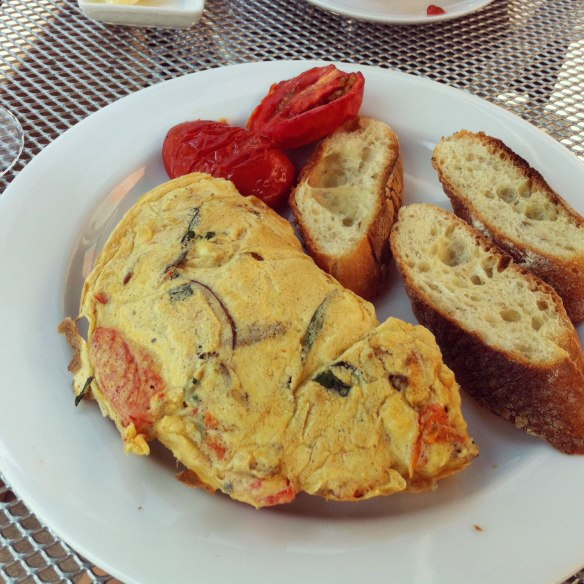 Italiano Omelet - Skylark on the Hudson