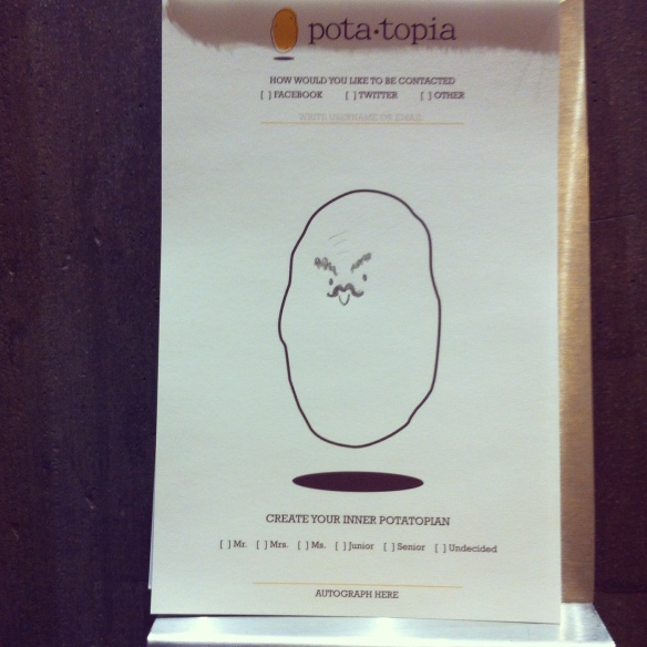 Potatopia, Greenwich Village