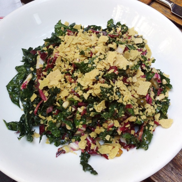 Tuscan Kale & Radicchio Salad, Pure Food & Wine