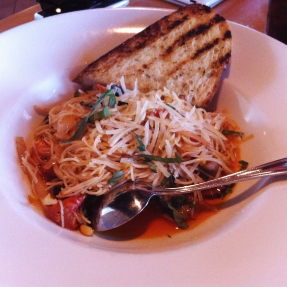 Angel Hair Pasta - Bonfyre Grill, Madison