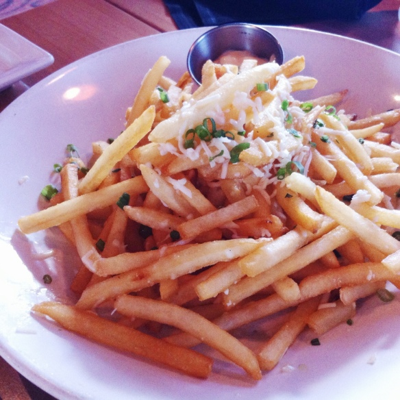 Truffle Fries - Bonfyre Grill, Madison
