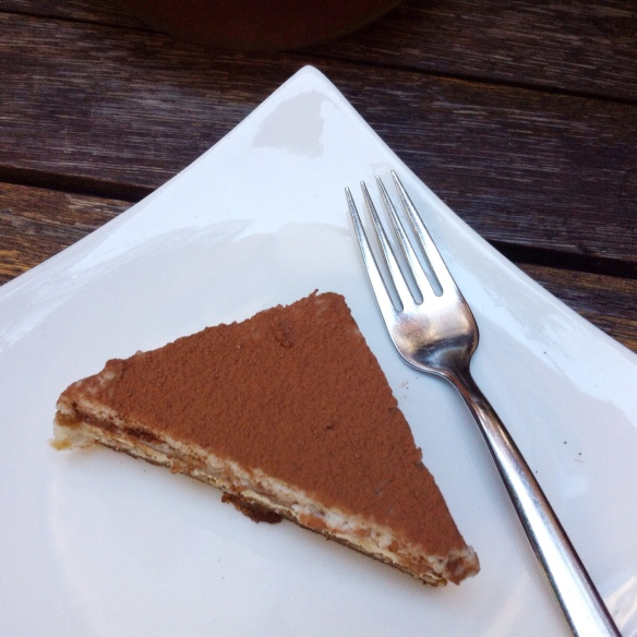 Tiramisu Triangle, Pure Food & Wine