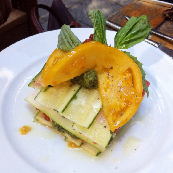 Zucchini and Tomato Lasagna, Pure Food & Wine