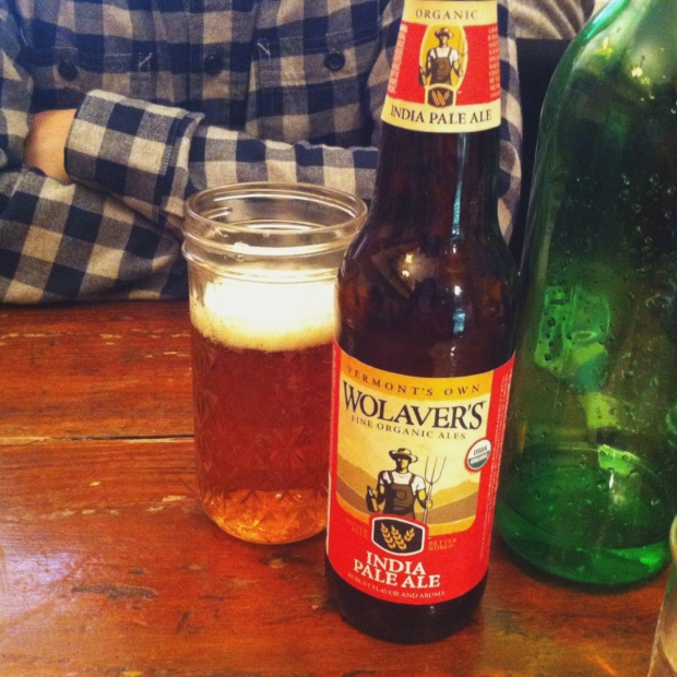 Wolaver's IPA Beer, The Organic Grill