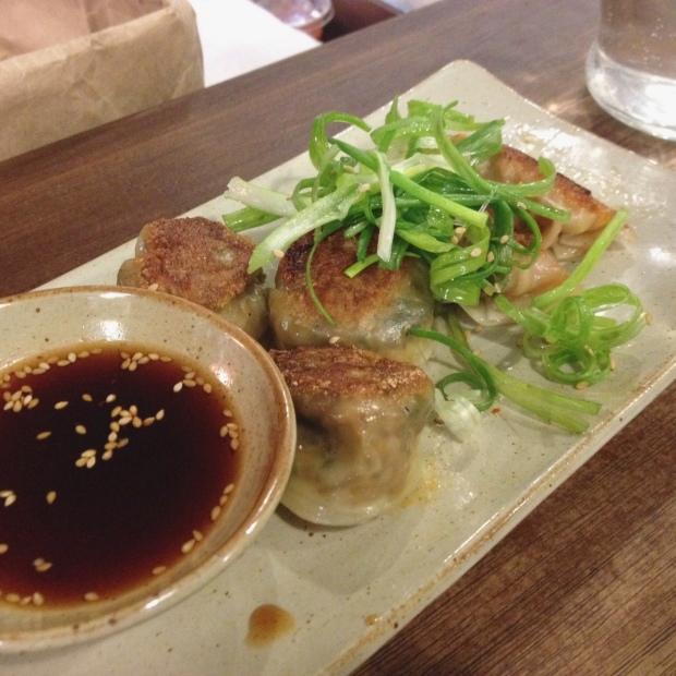 Japchae & Halmoni Dumplings, MokBar