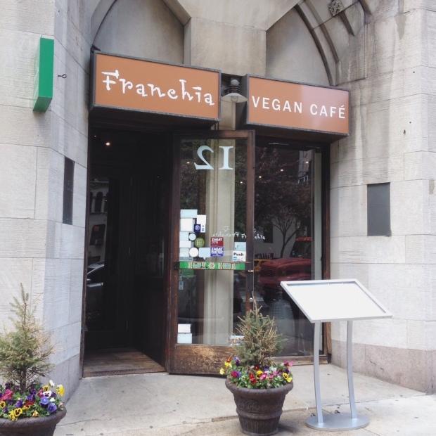 Franchia Vegan Cafe, Murray Hill