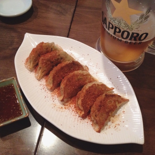 Spicy Vegetable Gyoza, Ramen-ya