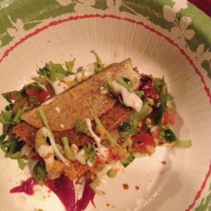 Rockin Raw Vegan Tacos