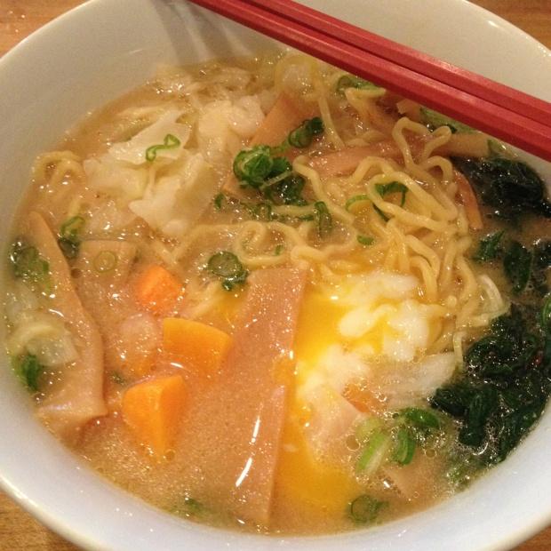 Veggie Miso Ramen, Chuko Ramen