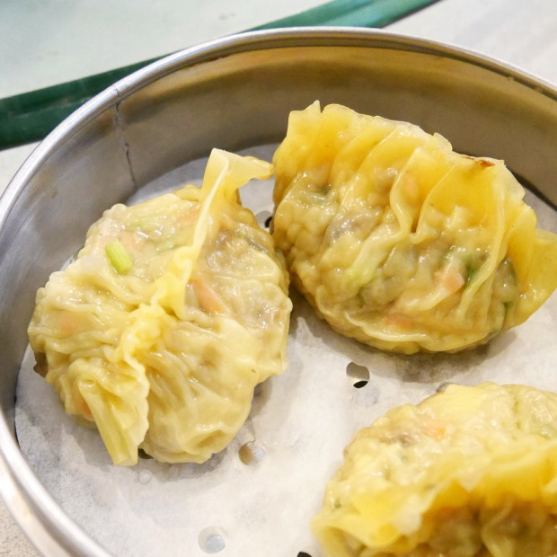 Vegan Shark Fin Dumplings, Buddha Bodai