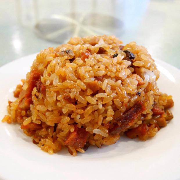 Vegan fried sticky rice, Buddha Bodai