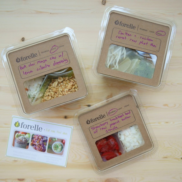 Forelle Raw Vegan Plant-Based Meal Delivery, Portland