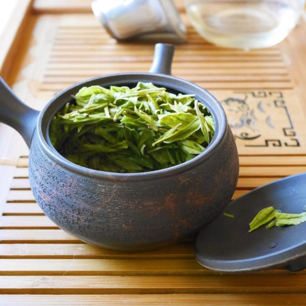 White Jade Phoenix Green Tea, Totem Tea, Portland