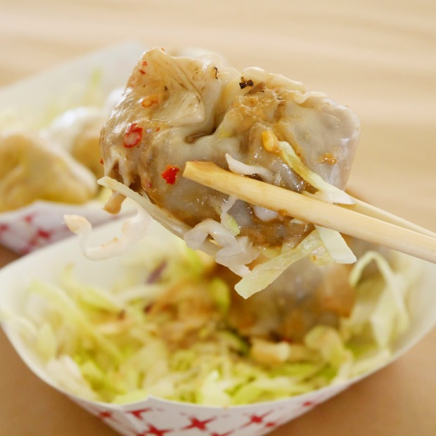 Down to Earth Vegan Dumplings, Dump Truck Food Truck