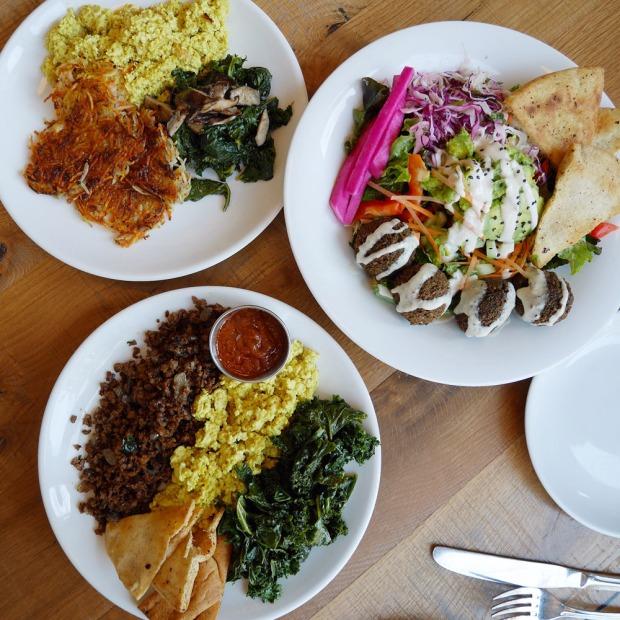 Vegan Brunch, B52 Cafe, Pittsburgh