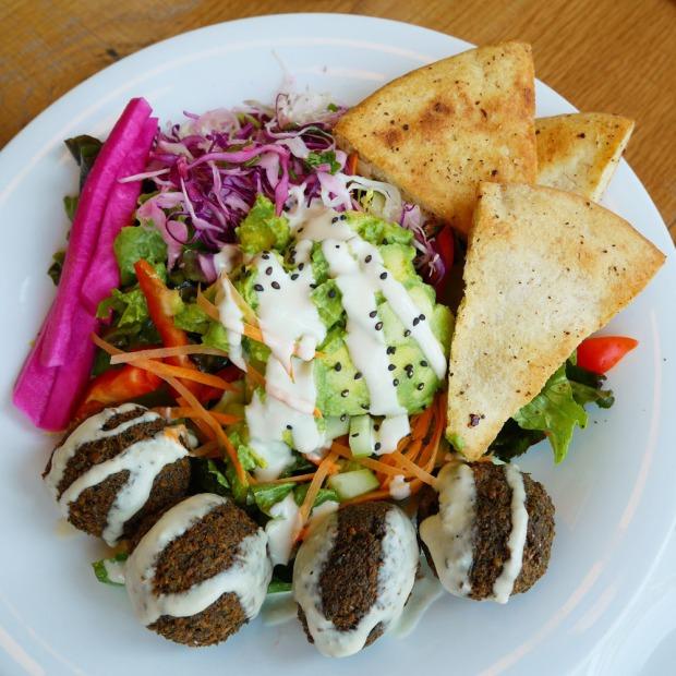 Falafel Salad, B52 Cafe, Pittsburgh