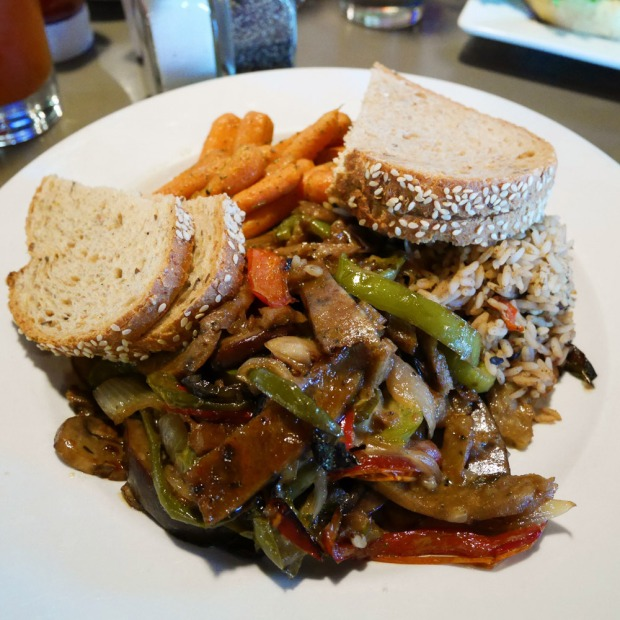 Meatless Stroganoff, Double Wide Grill, Pittsburgh