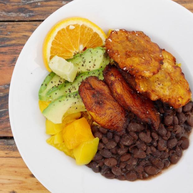 Vegan Portland Plate, El Cubo de Cuba