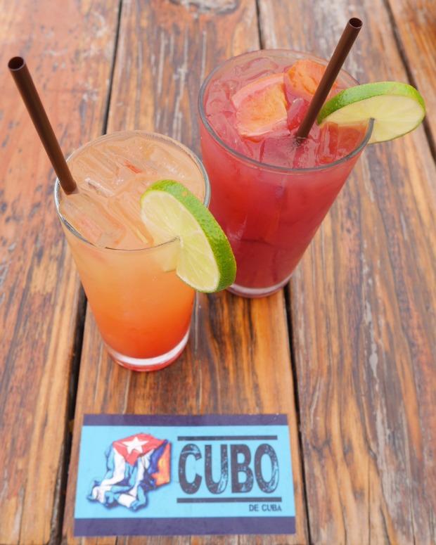 Havana Sunrise, Sangria, Cocktails, El Cubo de Cuba