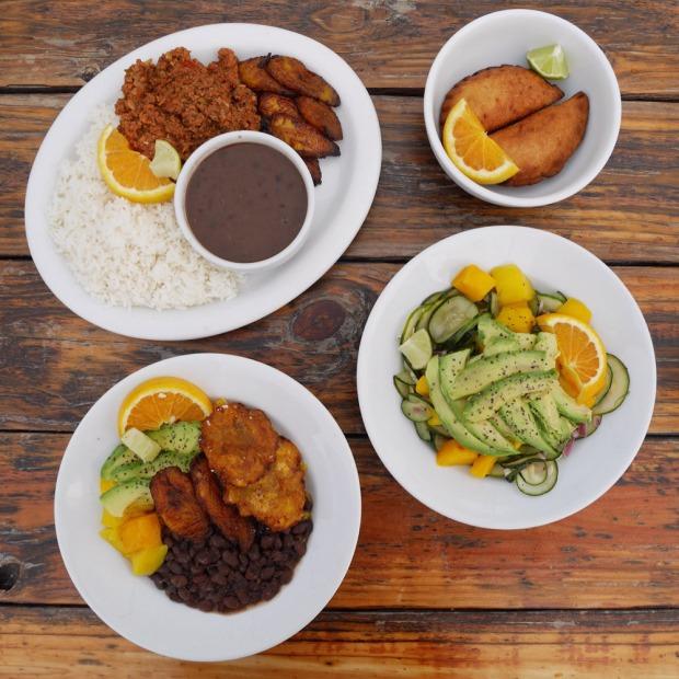 Vegan Cuban Dishes, El Cubo de Cuba, SE Portland
