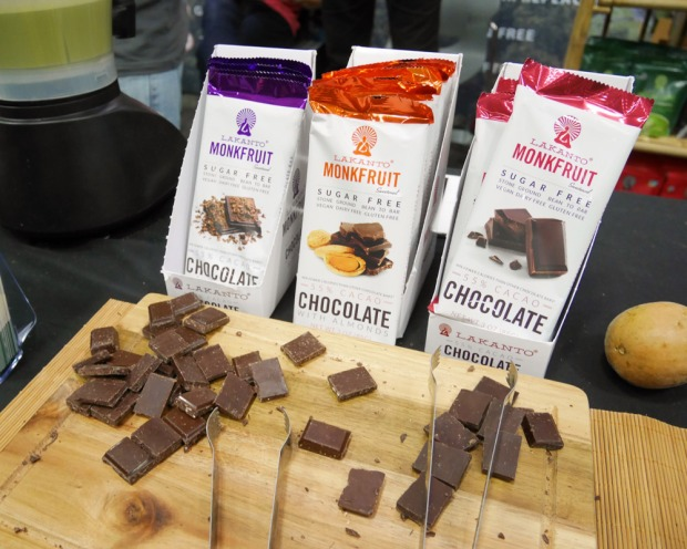 Lakanto Monkfruit Chocolate, Portland VegFest