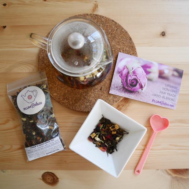 Plum Deluxe Organic, Fair Trade Tea Blends
