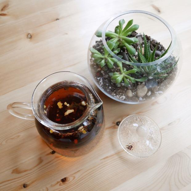 Plum Deluxe, Oregon Breakfast Black Tea