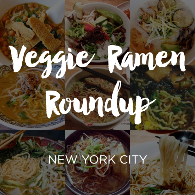 Vegetarian & Vegan Ramen Roundup, New York City